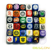 High Quality Durable Custom Engraving Board Game Dice 16MM