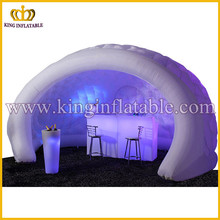 Indoor Used Led Lighting Inflatable Igloo Glow Bar /Tent For Sale