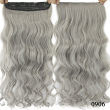 cheap One Piece Thick Clip In Hair Extensions 3 4 Full Head Ombre Straight Hairpieces