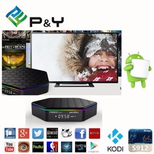2017 popular Stable Box ! T95Z plus Android6.0 Amlogic S912 4K Octa Core 2G 16G Streaming Media Player