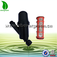 "1""drip irrigation system plastic water screen filter"