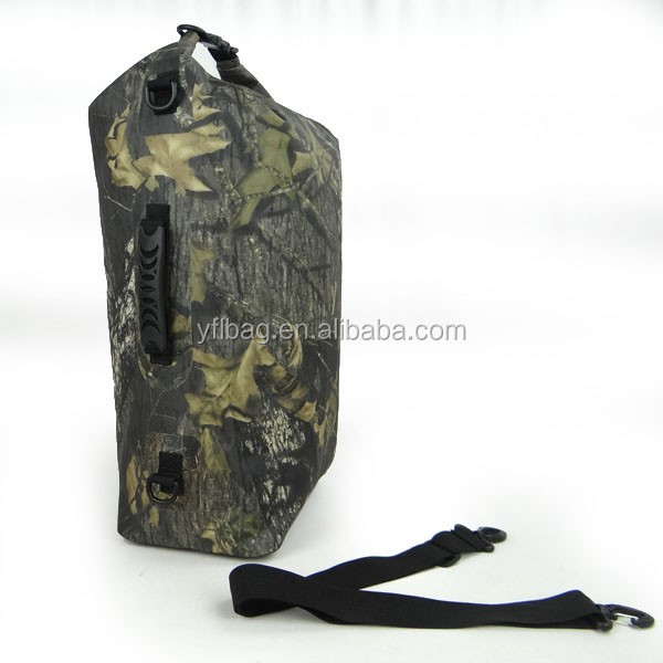 2019 new fashion camouflage waterproof dry bag for camping,hiking