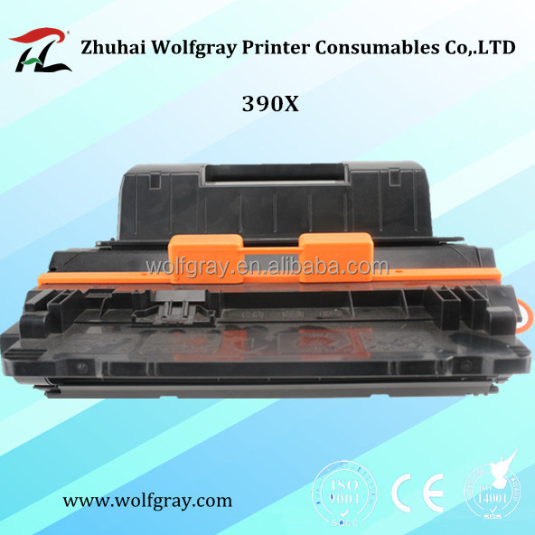 Toner cartridge for hp laserjet CE390X