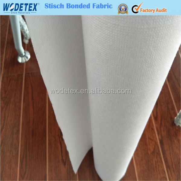 Stitch bonded cross fabric in rolls