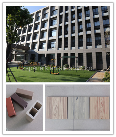 Building facade terracotta wall decorative panels ceramic tiles decoration