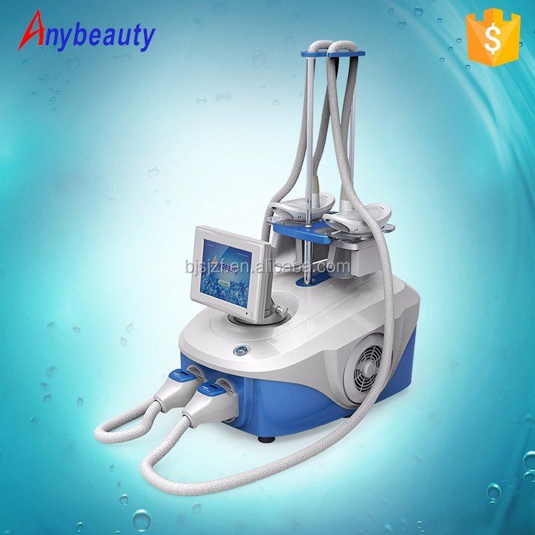 2 handles fast body slimming cryolipolisis weight loss fat removal machine