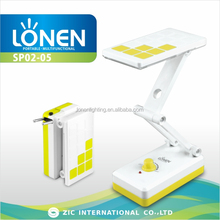 LONEN 14SMD cordless wireless light dimmable led battery desk lamp