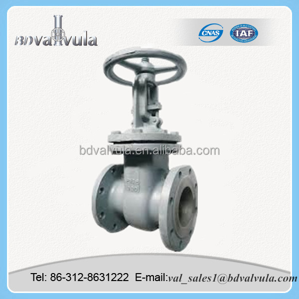 Carbon Steel PN16 DN80 long Stem gate valve