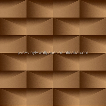 new 3D pvc wallcovering with Modern Style /3D brick wall paper/home decoration wallpaper