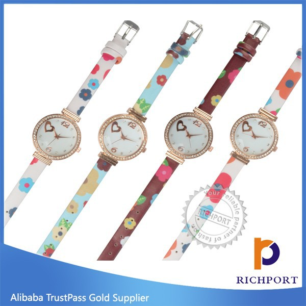 Newest Vogue Waterproof PU Leather Bracelet Watch ,Butterfly watches, Dress watches