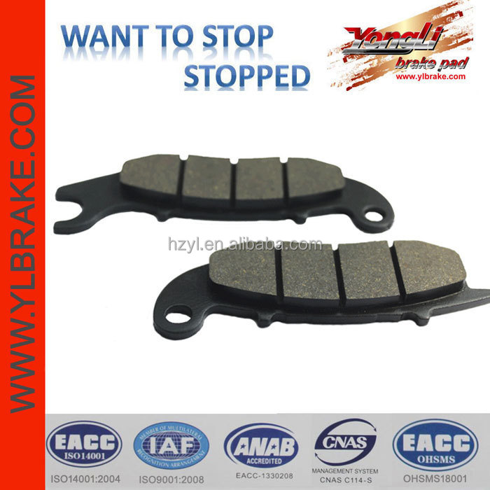 mini motorbikes brake pads ANF125 for sale,disc brake pads price,Motorcycle front Brake Pad Set