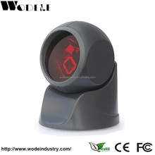 24 lines laser USB 1D omnidirectional laser barcode scanner/ cheap price barcode scanner