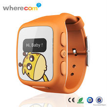 Wholesale Hot Product Kids Vogue Silicone Watch, GPS Tracking Watch Phone