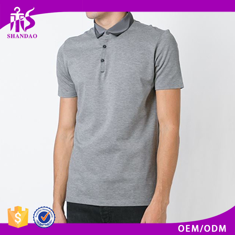 2016 High Quality Guangzhou Shandao Manufacture 180g Bamboo Short Sleeve Casual Clothing