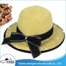 Cheap And High Quality Professional Manufacturer Panama Hat Fashion Women Sun Hats