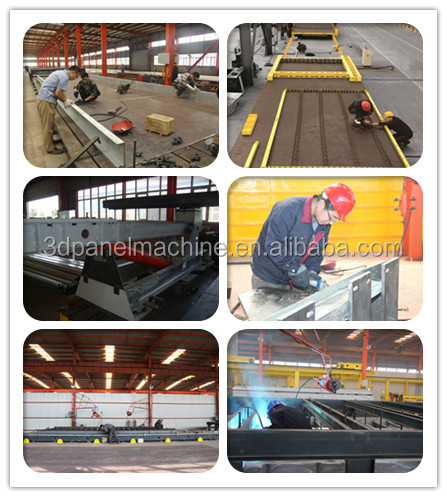 precast concrete elements production line manufacture