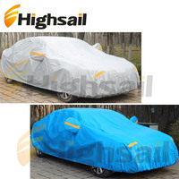 Outdoor Waterproof Polyester PEVA PVC Cotton Car Cover