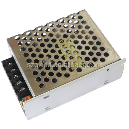 Low Price! Aluminium Shell 40W Switching Power Supply 5V/12V/24V