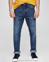 2017 hot sale new style basic regular fit jeans pent men