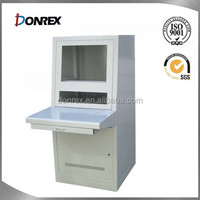 Aluminum electric sheet metal enclosure with white painting