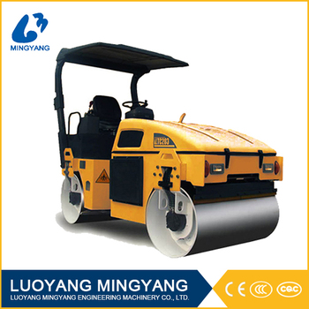 China lutong 3 ton hydraulic double drum road roller LTC203