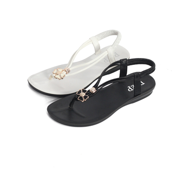 China factory low price women summer footwear  flip flop sandals women sandals