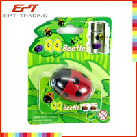 Wholesale plastic beetle insect toy kids pull back magnet toy