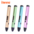 itenns New popular design VM01 3D pen with PCL printing material