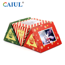 Golden Supplier Christmas Snow Photo Frame for Fuji instax Mini