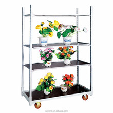 Plant Display Danish Flower Trolley Flower Cart