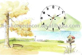 home decoration art clock