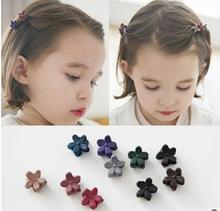 Cute Children Kids Mini Flower Wholesale Hair Pin Clips Decorative