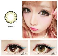 Korea Dolly big size color contact lens cute eye color contact lens for big eyes