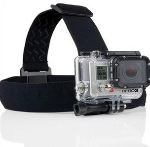 2015 Wholesale for GoPro Camera Headstrap Mount + Quick Clip
