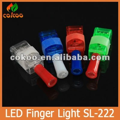 Magic Halloween LED Light Finger Flashing For Carnival & Christmas Good Quality LED Finger Light With Low Price