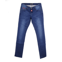latest design jeans pants for girl mustache & wrinkles jeans with wholesale price