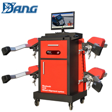 wireless sunshine complete 3d wheel alignment equipment for car