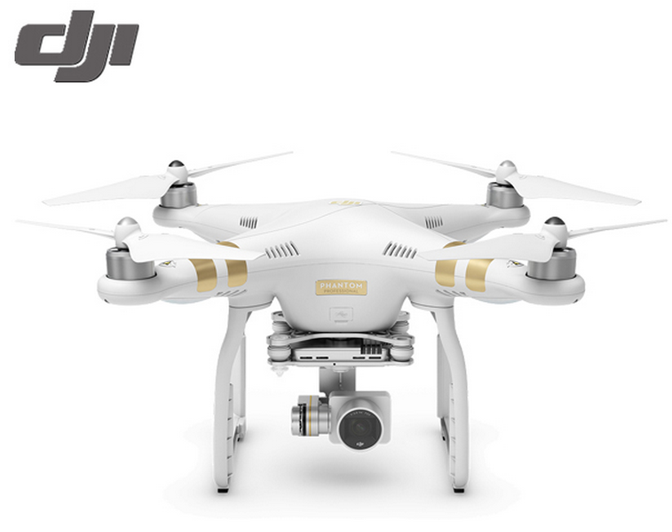 DJI Phantom 3 Professional 4K RC Drone Quad Copter RTF GPS FPV 2 BATTERY COMBO