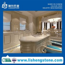 Top 10 China Muanufactuer prefab kitchen quartz countertop with low price
