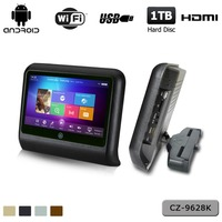 9 inch 800*480 car headrest touch screen monitor MP3/MP4 player