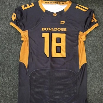 custom sublimated american football jersey football uniforms