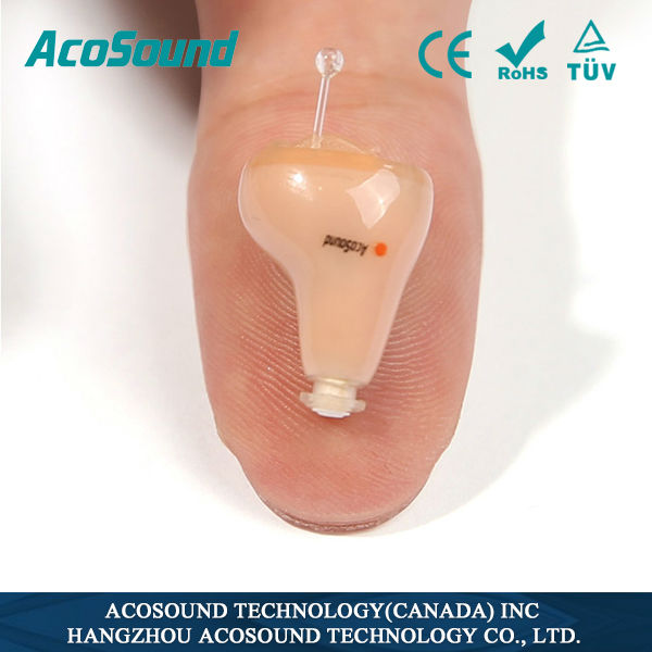 Hearing aids AcoSound Acomate 210 Instant Fit ear zoom hearing aid
