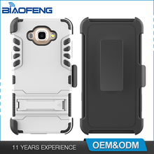 Favorable price wholesale robot combo TPU PC case phone mobile back cover for samsung j7