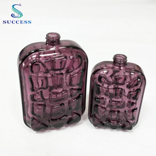 Jiangyin Success 60ml / 120ml Mysterious Purple Perfume Glass Spray Bottle