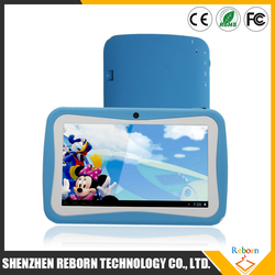 2016 hot promotion wholesale RK3126 Quad core android kids tablet pc