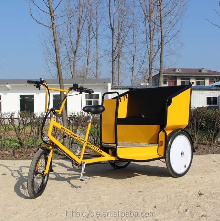 Hot Manual electric Pedicab Rickshaw