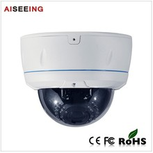 New product 5 Megapixel SD Card Recording POE IP IR Dome Camera