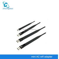600Mbps Wireless Wi Fi 2.4G+5GHz Dual Band AC Wifi Antenna USB 802.11ac/b/g/n Adapter With Gigabit Speed Wi-Fi Network Card