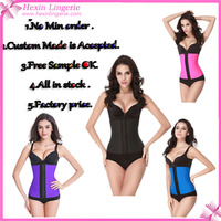Free Sample Custom Made Brand 100% Latex Waist Trainer Corsets Wholesale