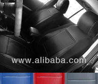 MIX LIKE CARBON FIBER AND SYNTHETIC CUSTOM CAR SEAT COVERS